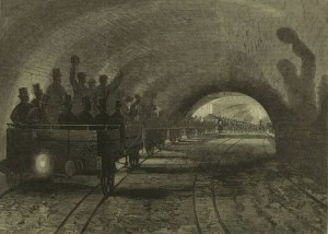 shadows - Six Fascinating Images Of The Early London Underground