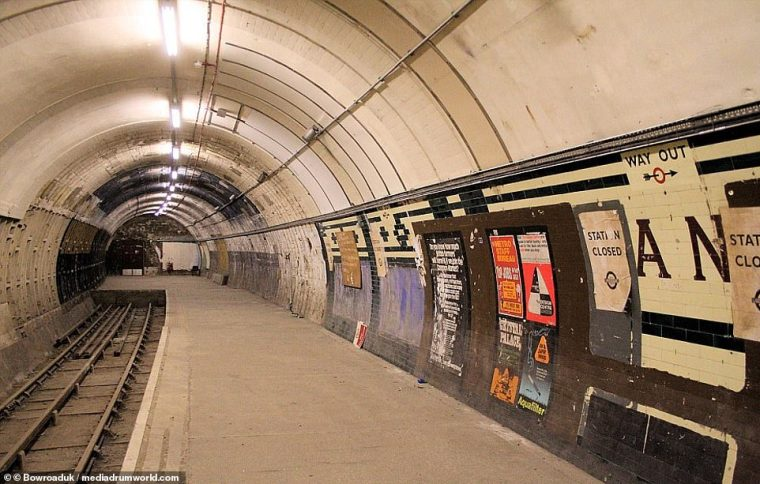 london underground ghost station for film use - London Underground map that shows every abandoned 'GHOST STATION'