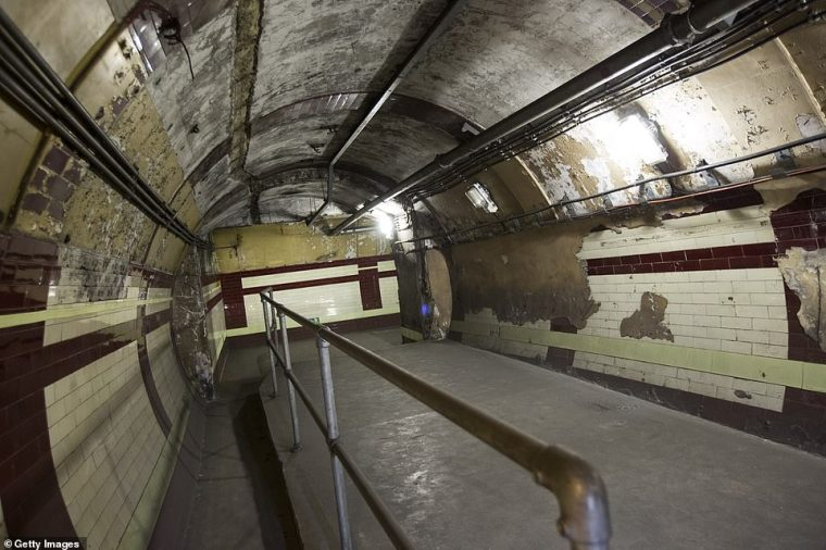 london underground ghost station - London Underground map that shows every abandoned 'GHOST STATION'