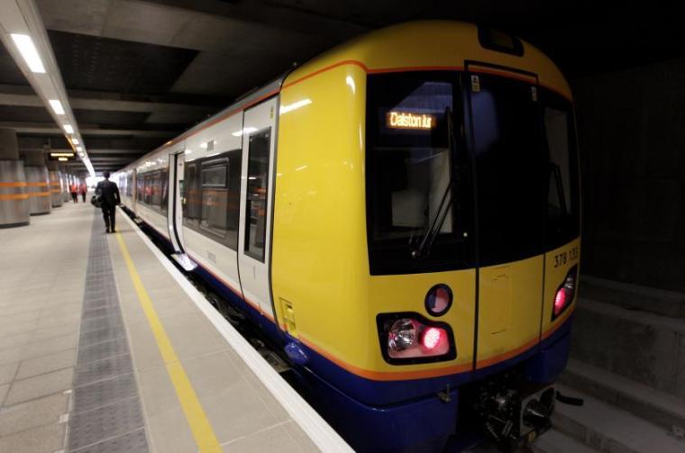 overground train - Yet more ways TfL should change London's tube and rail maps to make them less irritating