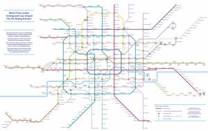beijing tube - An alternative TfL Tube map: Designer creates 'grid-like' London Underground plan using Beijing Subway as guide