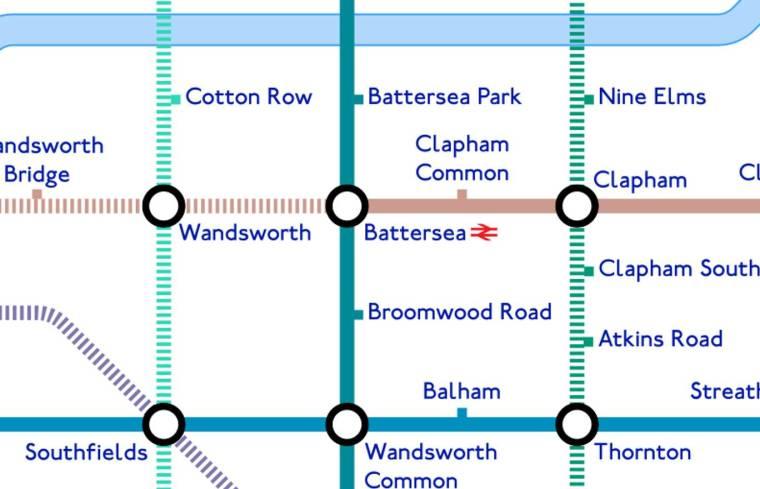 beijing tube3 1024x659 - An alternative TfL Tube map: Designer creates 'grid-like' London Underground plan using Beijing Subway as guide