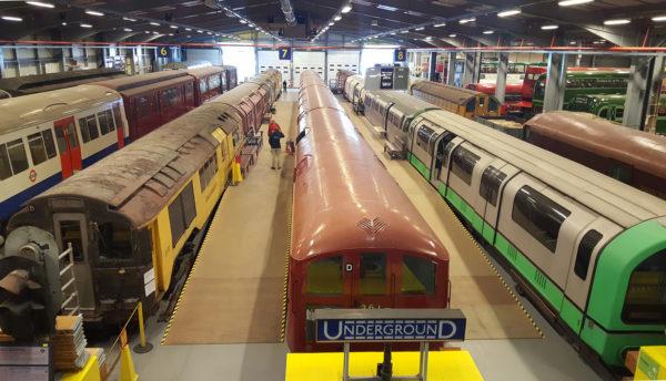 transport museum acton depot 01 1 600x344 - Tickets Alert: Open Weekend at a railway depot