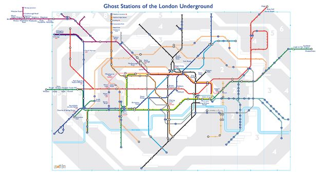 0 ghost tube map large - The London Underground's secret stations have been revealed in this map