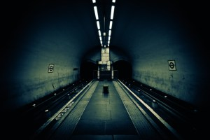 clapham north - These Remarkable Photos Show London's Tube Stations Completely Deserted