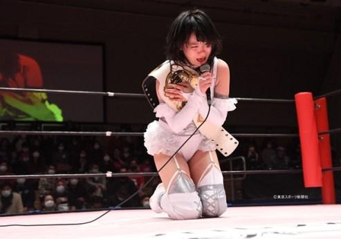 AndNEW: Rika Tatsumi Wins Princess of Princess Championship