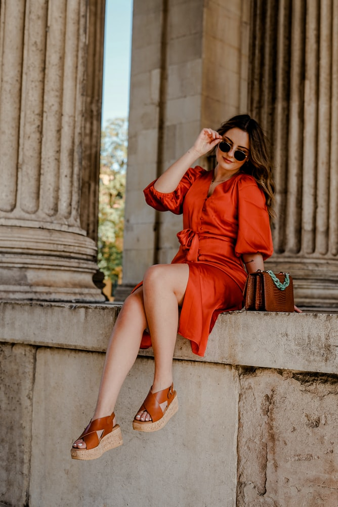 flatform style trendy shoes