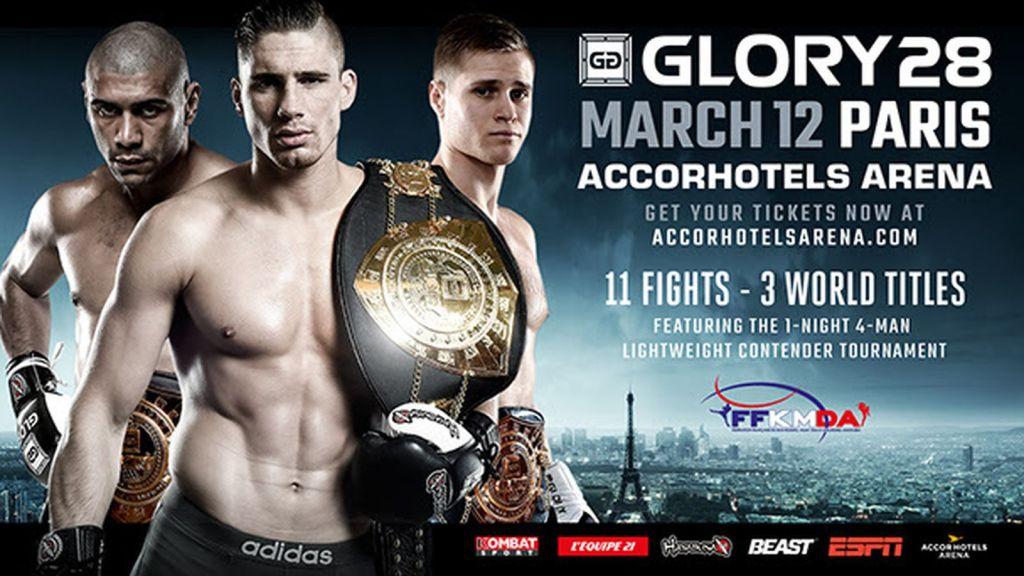 Glory 28 Paris – Ars Gratia Artis, par Toutatis !