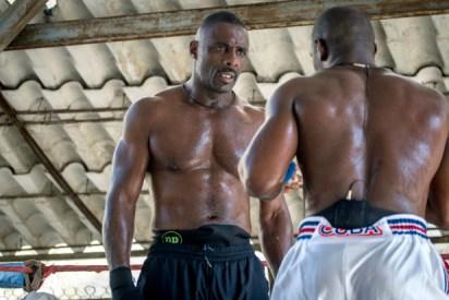 Idris Elba - kickboxer