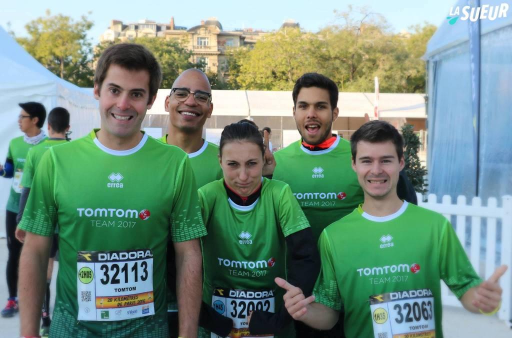 Recap des 20 Km de Paris avec notre Team La Sueur x TomTom