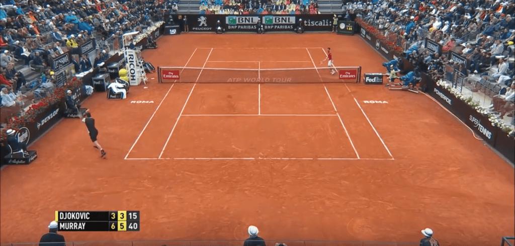 Murray Djokovic Rome