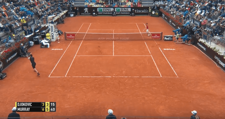 Murray Djokovic Rome