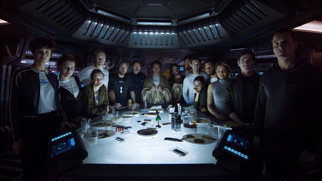 Une vidéo de 4m45 pour nous présenter l'équipage d'Alien: Covenant