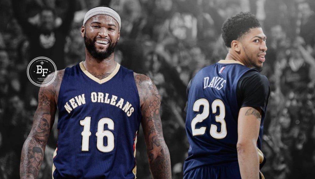 Anthony Davis et DeMarcus Cousinsaux Pelicans - le retour des Twin Towers
