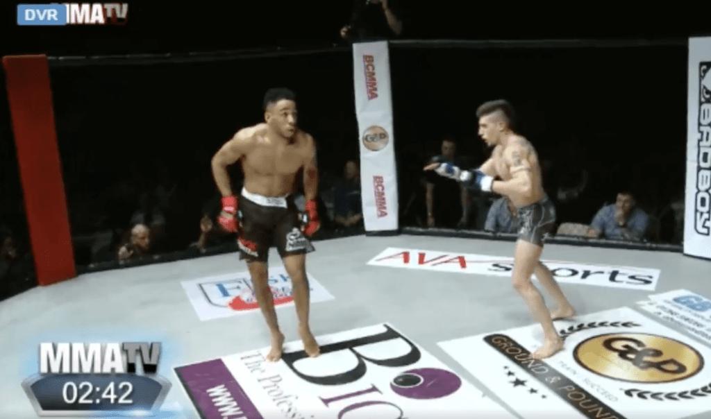 BCMMA - Joe Harding chambre son adversaire et se prend un sale KO