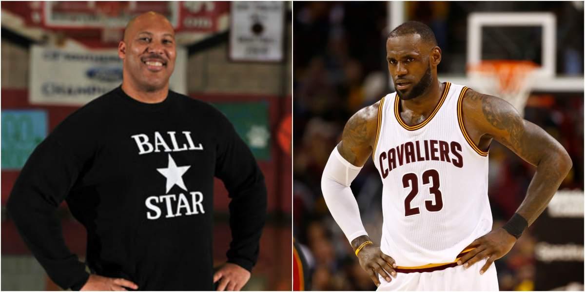 """LeBron James calme LaVar Ball: """"laisse ma famille en dehors de ça"""""""