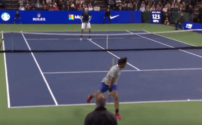 Roger Federer John Isner