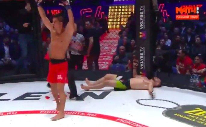 Fight Nights Global 64 - Ali Bagautinov terminé à la cloche par Tyson Nam