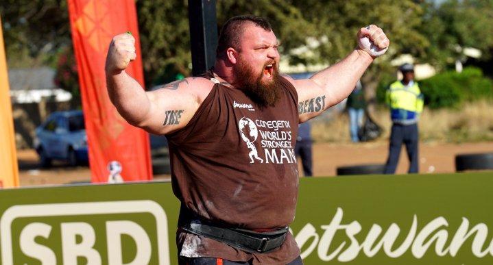 Eddie Hall est devenu le World's Strongest Man devant la Montagne