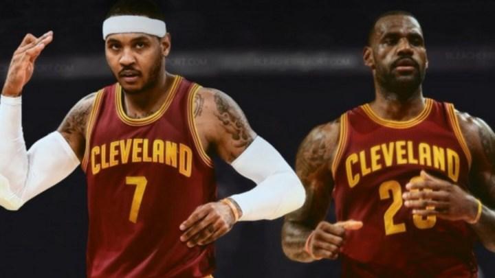Les Cavaliers favoris pour Carmelo Anthony en cas de buy-out