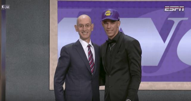Les Los Angeles Lakers sélectionnent Lonzo Ball!