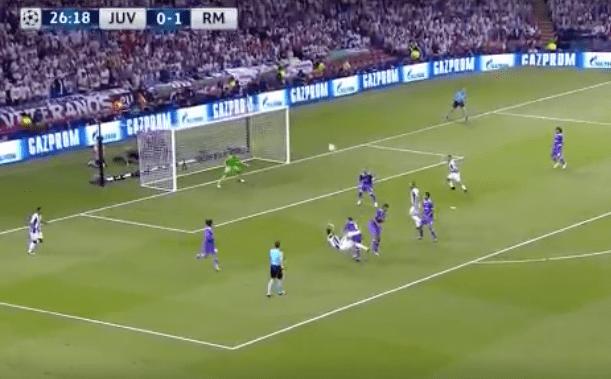 Mandzukic égalise pour la Juventus avec un but magnifique