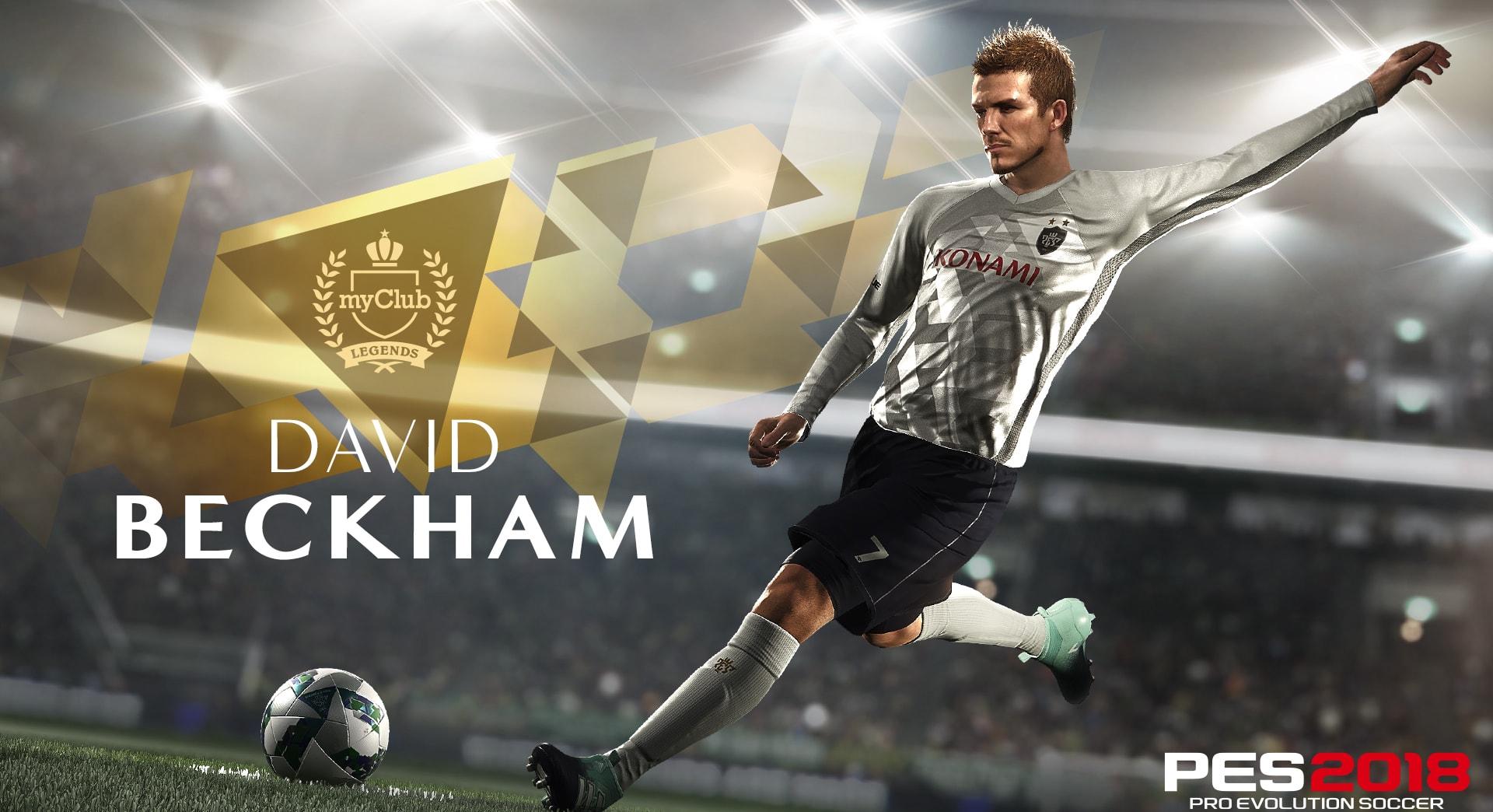 David Beckham devient ambassadeur du jeu vidéo PES — Insolite