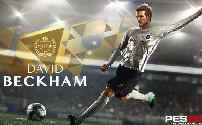 David Beckham débarque dans le trailer de PES 2018
