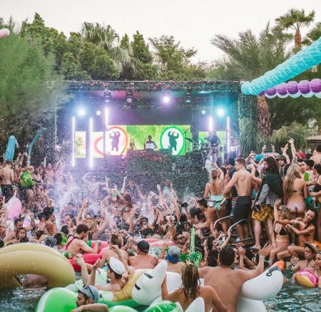 Le Splash House: La plus grosse pool party des Etats Unis