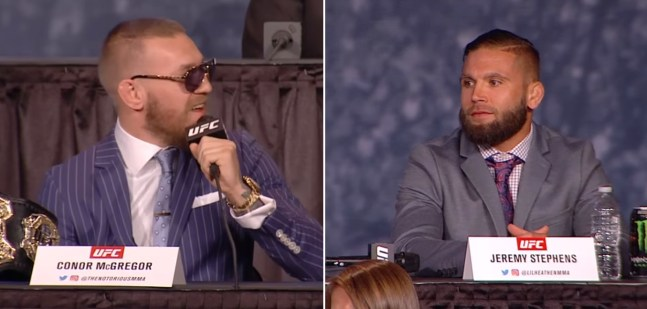 Jeremy Stephens prend sa revanche sur Conor McGregor