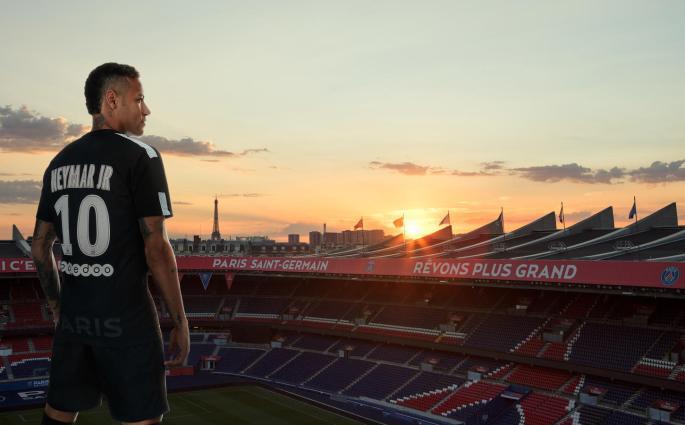 Le troisième maillot du Paris St-Germain 2017-2018 est magnifique
