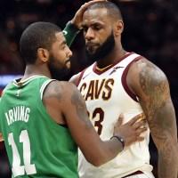 """LeBron James parle du trade d'Irivng : """"le début de la fin"""""""