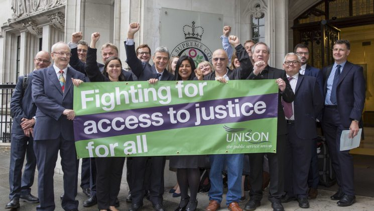 In 2017 UNISON won a landmark legal case against the government
