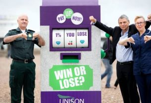 NHS pay – UNISON response to Budget