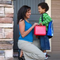 Childcare drop-off