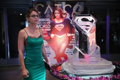 """Fight or Flight"" -- Supergirl's powers are tested when Reactron, one of Superman's formidable enemies, arrives in National City and targets the young hero, on SUPERGIRL, Monday, Nov. 9 (8:00-9:00 PM, ET/PT) on the CBS Television Network. Pictured: Melissa Benoist Photo: Cliff Lipson/CBS ©2015 CBS Broadcasting, Inc. All Rights Reserved"