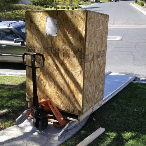 custom moving crates
