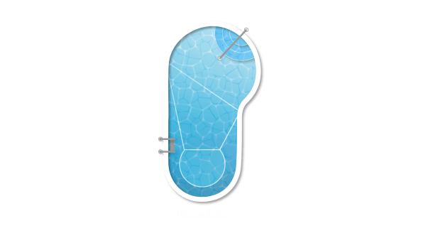 Barbados Shape Swimming Pool Design - Clarity Pool Services of Las Vegas, Nevada