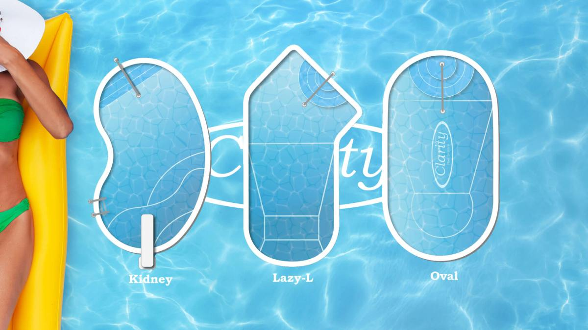 Clarity Pool Shape Design Guide Infographic