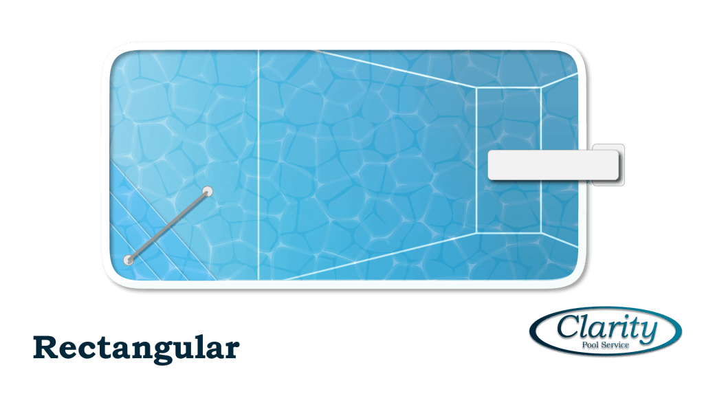 Rectangular Swimming Pool Design - Clarity Pool Service