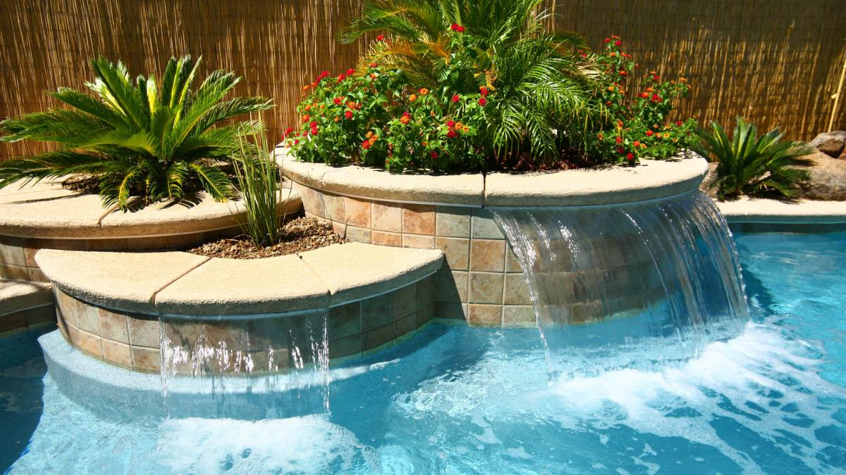 Swimming Pool Water Features Clarity Pool Service