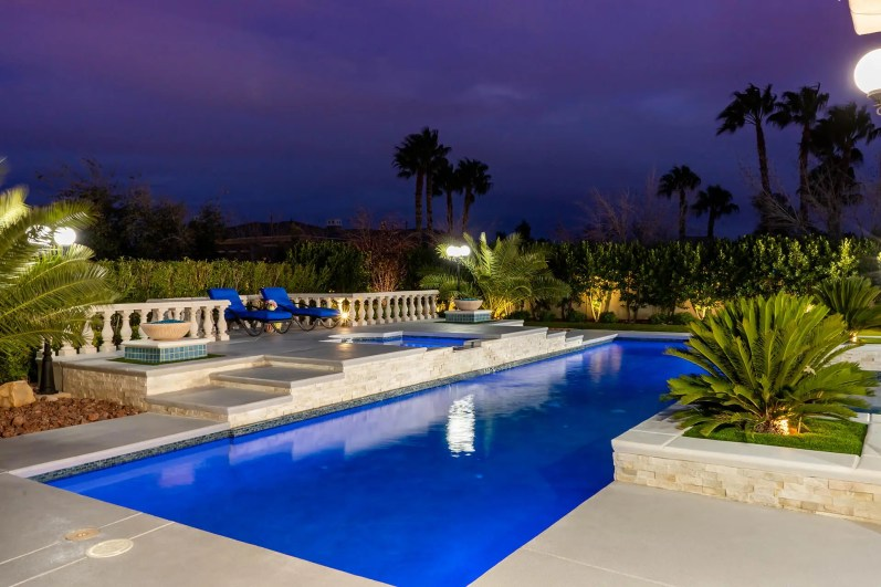 The Azure Mist Swimming Pool Project by the Professional Pool Builders of Clarity Pool Service
