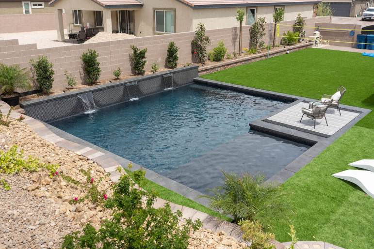 Custom Pool Design by Clarity Pool Service of Southern Nevada