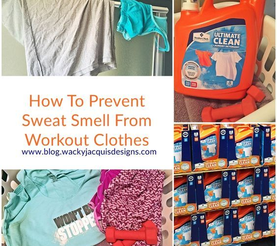 How To Prevent Sweat Smell From Workout Clothes
