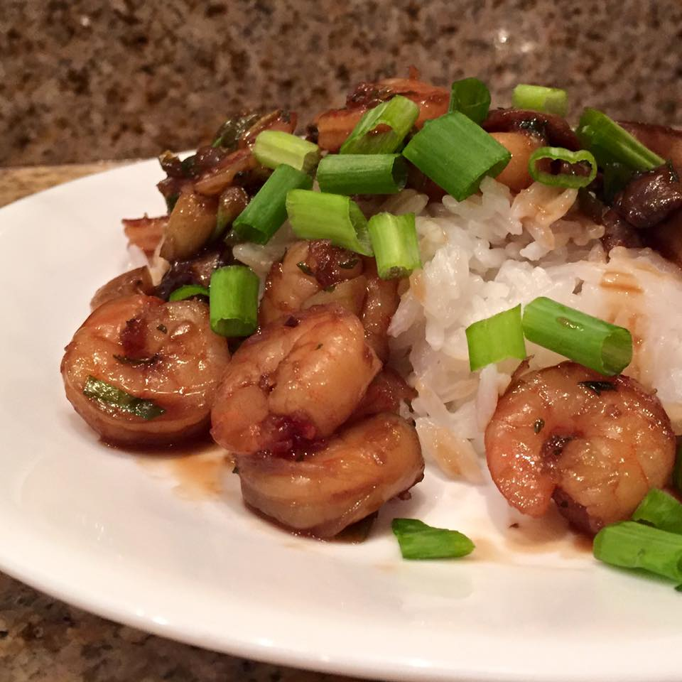 Honey Garlic Shrimp