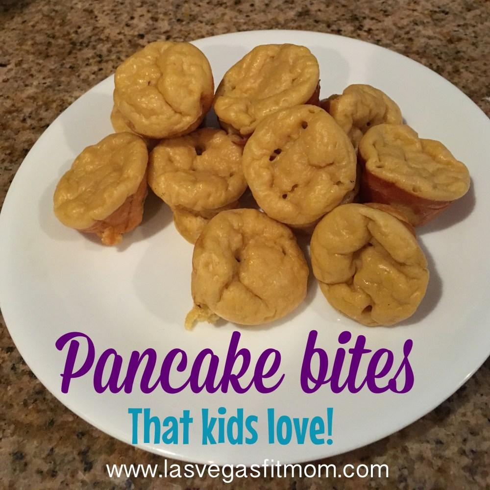 High Protein Pancake Bites