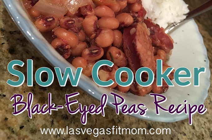 Slow Cooker Black-Eyed Peas Recipe