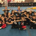 Kids Wushu