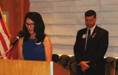 Rosalee Hedrick presented our invocation.