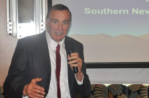 Guest Dr Alan Chamberlain discusses Nevada oil sites